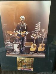 Trey Anastasio Signed Autograph Cd Cover Framed Display W/ Poster - Phish