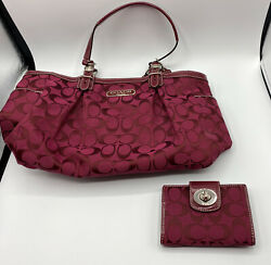 Coach Bag F1076 F15146 with Wallet $100.00