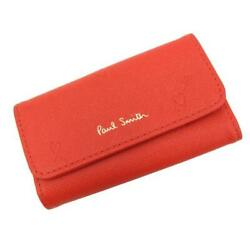 Paul Smith 4 Rings Key Cases Red