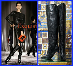 Vintage Tom Ford Bpiton Over The Knee Boots 38 - 8