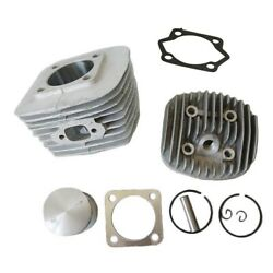 Cylinder Cylinder Headand Piston Kit Fit For 80cc Motorized Bicycle Bike New