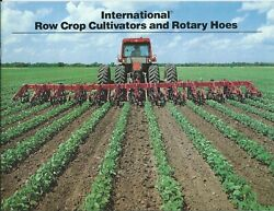 Farm Implement Brochure - Ih - Row Crop Cultivators - Rotary Hoes F7309