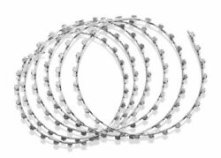 Dental Orthodontic Surgical Wire Arch Ss Erich Coil Erich Bar Set Of 50