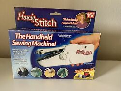 Hand Held Portable Sewing Machine By Handy Stitch