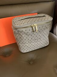 NEW Kate Spade #x27;Out To Lunch Tote#x27; Canvas CREAM AND POLKA DOTS BRAND NEW $10 $15.00