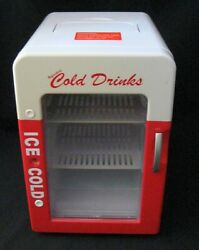 Refreshing Ice Cold Drinks Mini Refrigerator Cooling Or Heating Coca Cola Coke