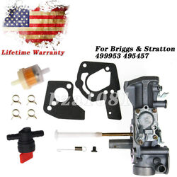 Carb For Briggs And Stratton 499953 495457 3hp-3.5hp 92200 80200 Engine Carburetor