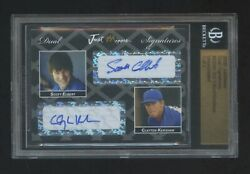 2006 Just Minor Clayton Kershaw Rc Autograph Ed 1/2 Auto Dodgers 2 Made Hof