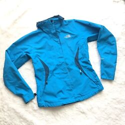 THE NORTHFACE WOMEN'S SKYBLUE HYVENT FULL ZIP SOFT SHELL JACKET S P $85.00