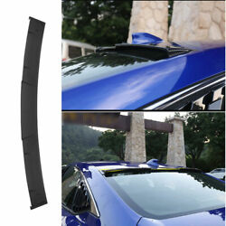 Fit For Honda Accord 10th 2018-2020 Roof Spoiler Tail Lip Wing Bar Carbon Fiber