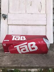 Tab Brand Soda Pop 1 12 Pack Box Of 12 Oz Cans Unopened New Discontinued