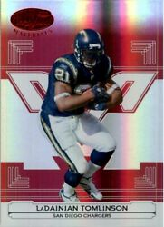 2006 Leaf Certified Materials Mirror Red Card 122 Ladainian Tomlinson /100