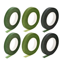 6roll 1/2x30yard 3 Color Floral Tape Flower Adhesives Floral Arrangment Kit
