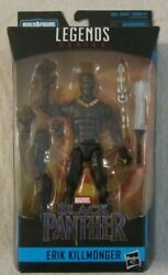 Marvel Legends Series Black Panther ERIK KILLMONGER 6in Figure Okoye BAF NIP