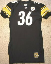 Pittsburgh Steelers Team Issued Jersey Jerome Bettis 2001 Game Jersey Size 52
