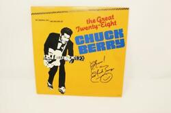 Chuck Berry Signed Autograph Album Vinyl Record - The Great Twenty-eight Real