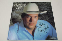 George Strait Signed Autograph Album Vinyl Record - The King Of Country, Rare