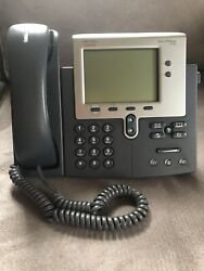 Cisco 7942g Ip Voip Telephone Phone 7942 Cp-7942g Lot Of 10 Phones Lower 48usa