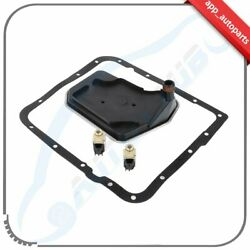 Shift Solenoid A And B+ Transmission Filter + Pan Gasket For Gm Car And Trucks