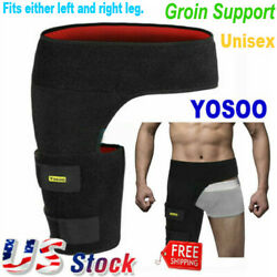 Groin Support Wrap Hip Brace Compression For Sciatica Pain Relief Thigh Recovery