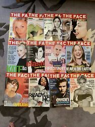 The Face Magazine 1996, 12 Issues Bundle Collection Vol. 2 No. 88-no. 99