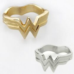 New Wonder Women Inspire Solid 925 Sterling Silver Silver Engagement Ring