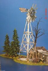 Department 56 Snow Village Buckand039s County Windmill By The Chicken Coop 52867