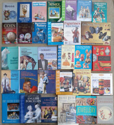 Selection Of Books On Collecting Antiques And Figurines Etc.