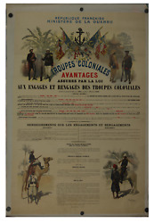 Troupes Coloniales French Wwi Poster