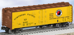 Northern Pacific Steel-sided Refrigerator Car 91353, Lionel, 6-17379