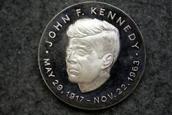 Us President Mint Inauguration Medals Jfk 35th Pres. Silver J11028