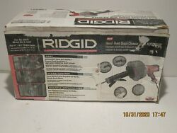 Ridgid 35473 K-45af Drain Cleaner Gun W/autofeed Functions 3/4and039and039-2-1/2and039and039-nisb Fs