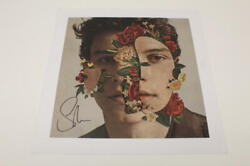 Shawn Mendes Signed Autograph 12x12 Litho Lithograph Poster - Stitches Singer