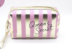 Pink Makeup Cosmetic Bags Zipper Wristband FREE SHIPPING US $8.99
