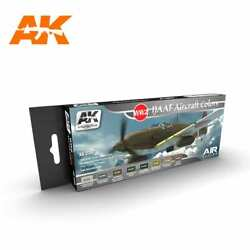 Air Series Wwii Ijaaf Japanese Force Paint Set 8 Colors 17ml Ak Interactive 2260