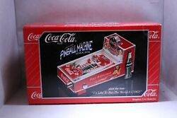 Coca Cola Pinball Machine Musical Bank 348449 With Box Battery Operated Japan