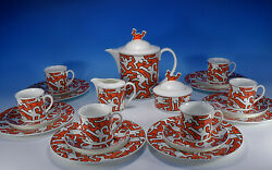 Villeroy And Boch Keith Haring A Piece Of Type Coffee Service For 6 Pers.