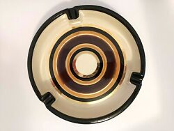 Rosenthal Netter Large Cigar Ashtray Mid Century Modern 9.5and039and039 X 2.5and039and039 Italy