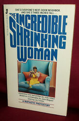 Sibert Incredible Shrinking Woman 1981 First Edition Photostory Lily Tomlin Film