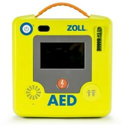 Zoll Aed 3 With Wifi And Adult/pedi Uni Pad. Newest In Aed Technology