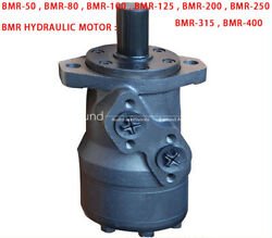 1pc Bmr Axial Distribution Type Hydraulic Motor Low Speed High Torque Bmr Series