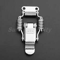 Briefcase Cabinets Lock Toolbox Case Chest Spring Latch Hasp Silver Hardware Diy