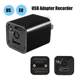 Usa 1080p Usb Phone Charger Ac Adapter Home Security Baby Monitor Hidden Camera