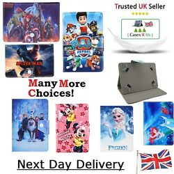 Disney Paw Patrol Avengers Spider Man Cases For Samsung Galaxy Tab A Cover Kids