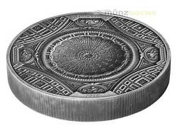 20 Dollar 4 Layer High Relief St. Peter Basilica Cook Islands 100 G Silver 2016