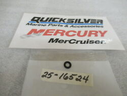 T8 Mercury Quicksilver 25-16524 O-ring Oem New Factory Boat Parts