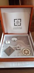 Lebanon 2016 American University Of Beirut Ltd Ed Proof Silver Coin Box Sold Out
