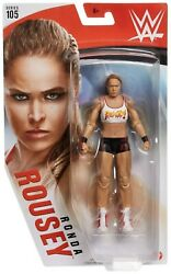 Wwe Wrestling Series 105 Ronda Rousey Action Figure [white Top]