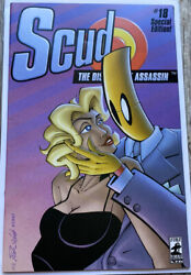 Scud The Disposable Assassin 18 1997 Fireman Press Variant Cover Limited 250