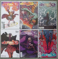 Shade The Changing Girl 1-6 Set..castelluci/zarcone..dc 2016 1st Print..vfn+